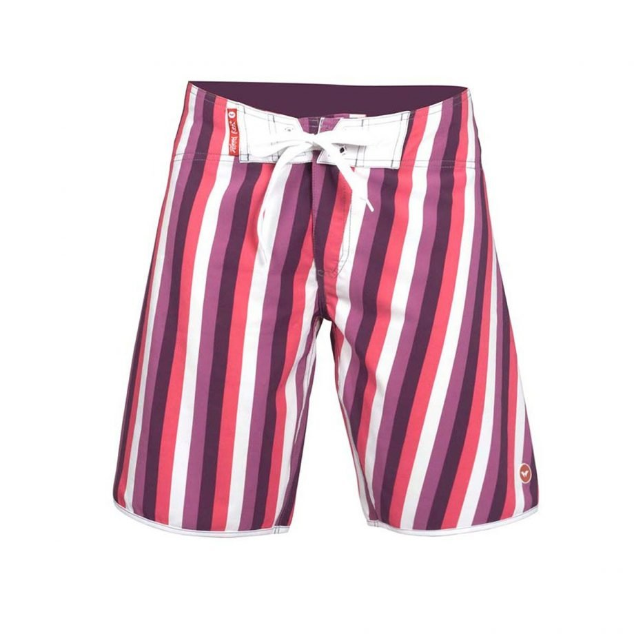 STRIPPER LONG BOARD SHORTS FOR WOMEN