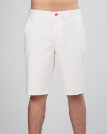 AJAX TAILORED WHITE SHORTS FOR MEN