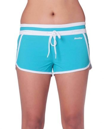 BLUE CANDY SWIM SHORTS FOR WOMEN