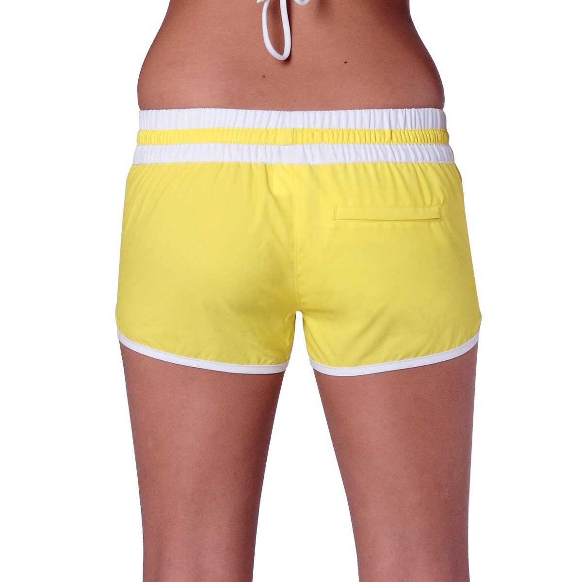e7a1081c10 YELLOW CANDY WOMENS SWIM SHORTS. Sale!