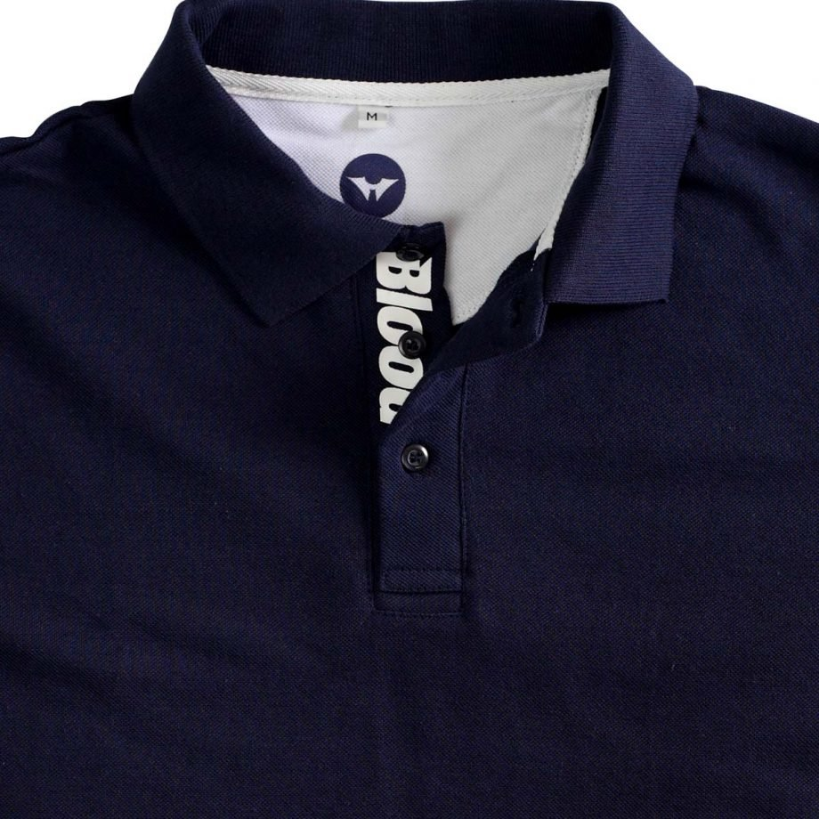 NAVY PIQUE POLO SHIRT, tshirt for men and women
