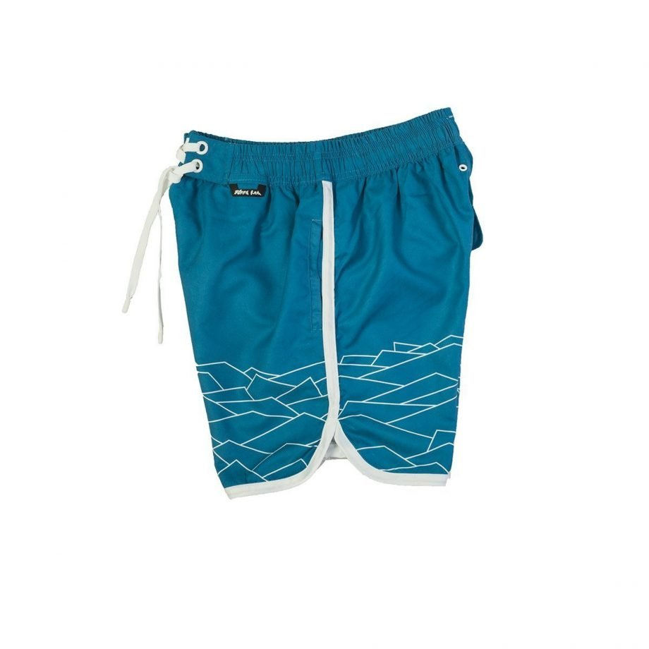 BLUE MUNRO SWIM SHORTS FOR MEN
