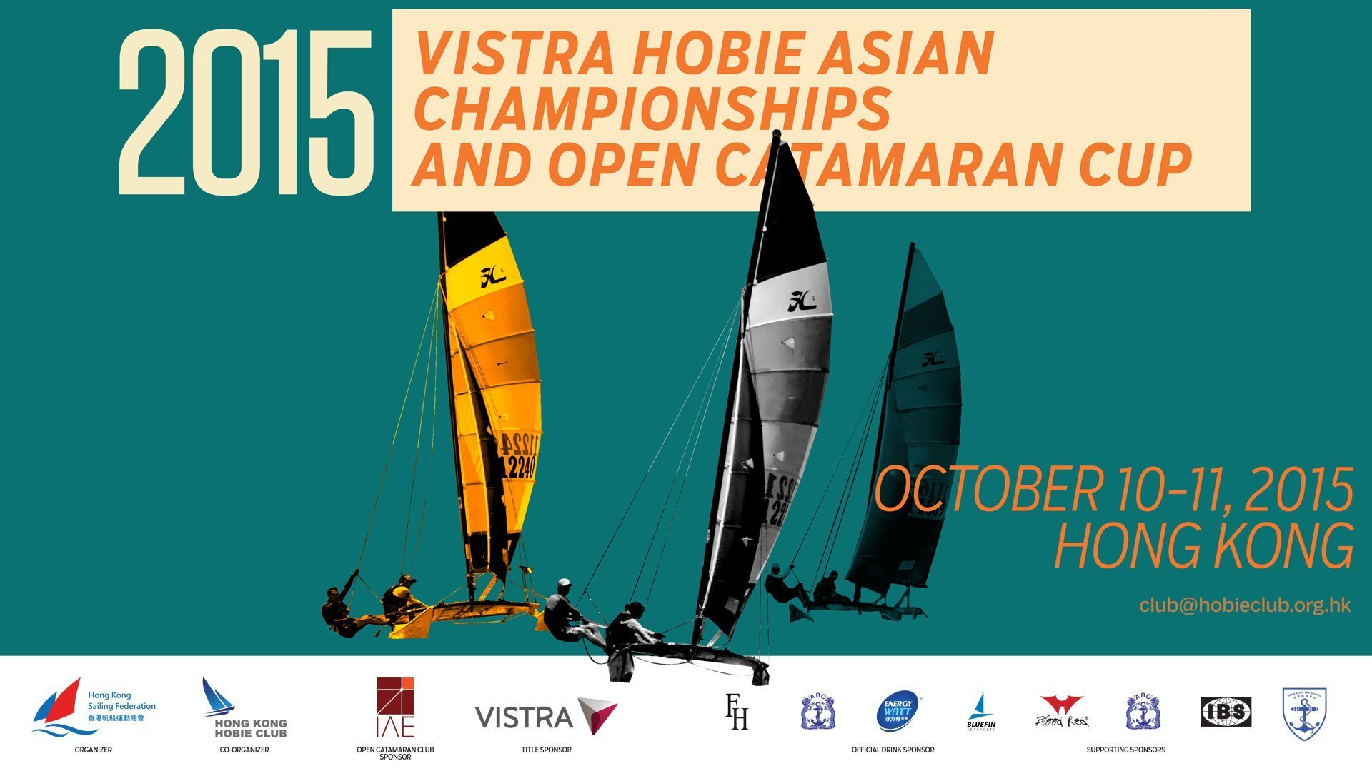 Thai Sailing Team Retain Iron Grip on Vistra 2015 Hobie Asian Championships