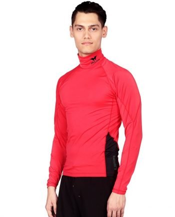 CLASSIC RED RASH GUARD FOR MEN