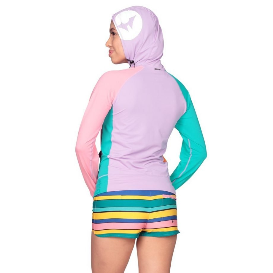 POLLIE HOODED RASH GUARD FOR WOMEN
