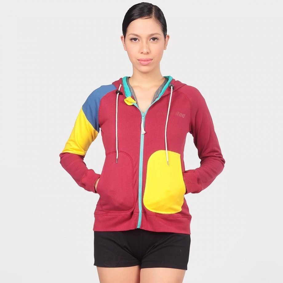PATCHES HOODIE FOR WOMEN