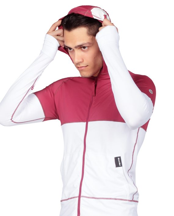 Mens Hooded Rash Guards for Extra Protection