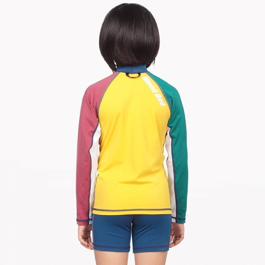 COLOR BLOCKS KIDS RASH GUARD GIRL
