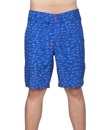 BLUE WAVES HYBRID SHORTS FOR MEN