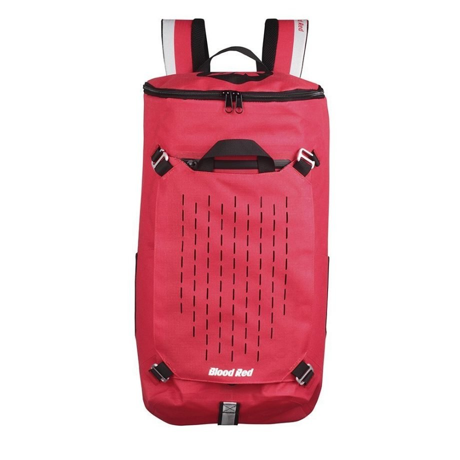 Protective Waterproof Backpack that comes with an interior sleeve protector for laptops and tablets by Blood Red