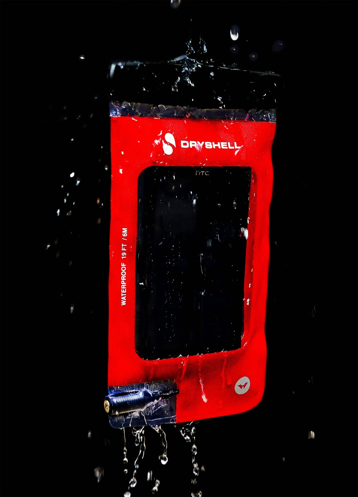 waterproof phone case red