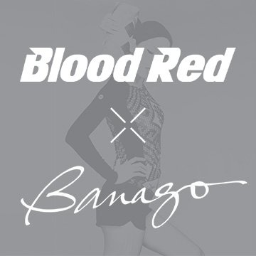 Blood Red® collaboration with Banago whose wonderful patterns has been an inspiration.