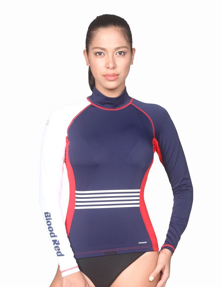 High Quality Surf Top offers Better Sun Protection and Style by Blood Red
