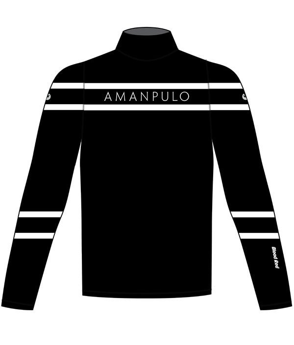 Amanpulo Luxury Resort's Custom Rash Guard - Front View