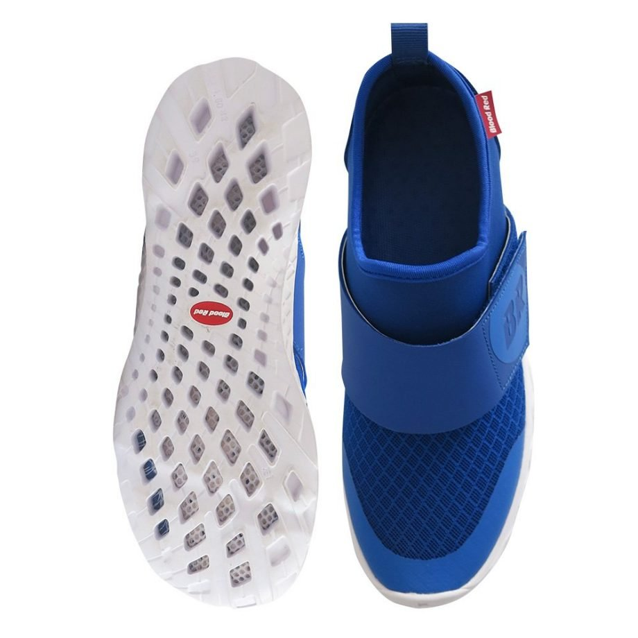 high quality blue aqua shoe with self draining sole