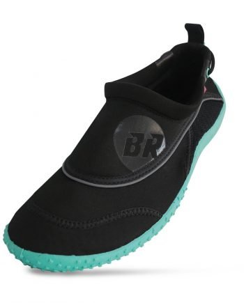 Delta black Aqua Shoes front angles