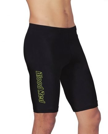 Men's Black Jammers With Side Stripe